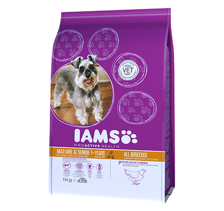 Iams® PROACTIVE HEALTH Mature & Senior Rijk aan Kip