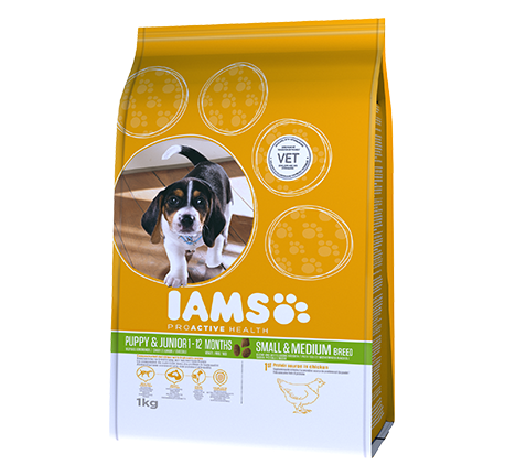 IAMS® PROACTIVE HEALTH Puppy & Junior Small and Medium breed